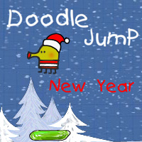 Дудл Джамп — Новый Год
