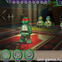 Игра Лего Черепашки Ниндзя