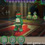 Лего Черепашки-ниндзя: Тренировка